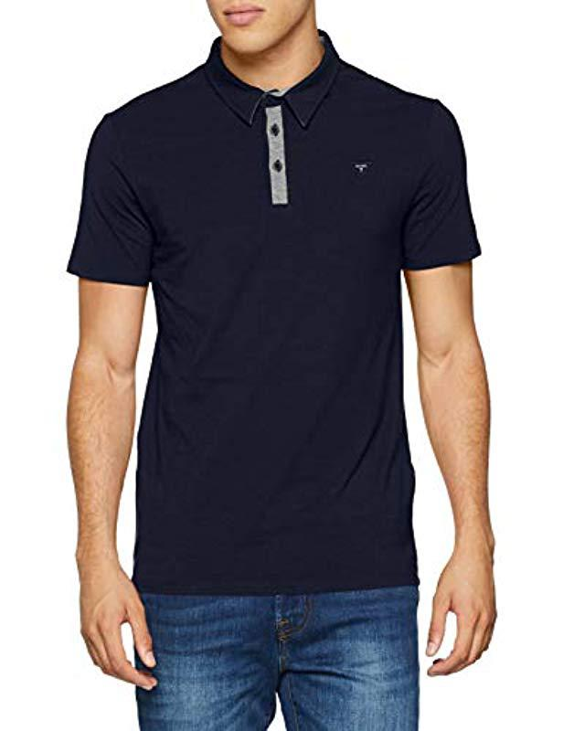 20942c06 Guess Polo Shirt in Blue for Men - Lyst