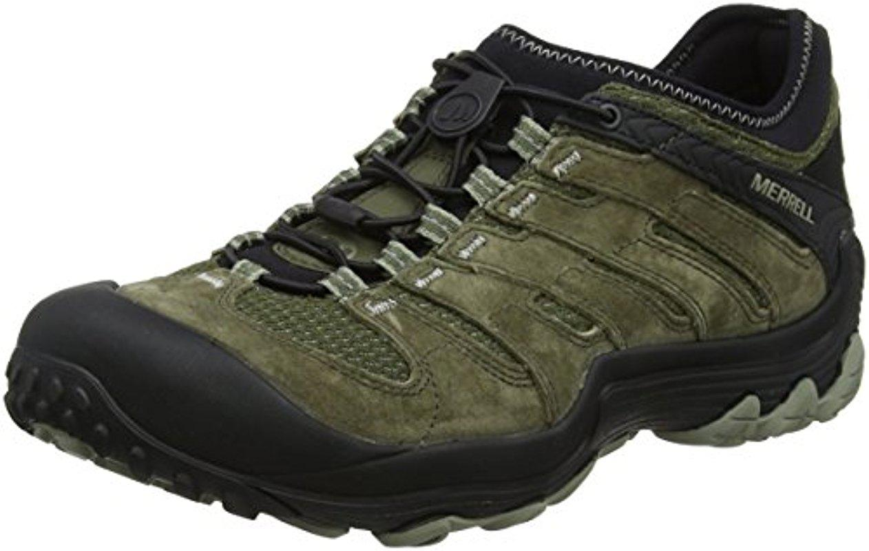 7bedb22bc8e4d ... Merrell - Green Chameleon 7 Limit Stretch Hiking Boot for Men - Lyst ·  Visit Amazon. Tap to visit site