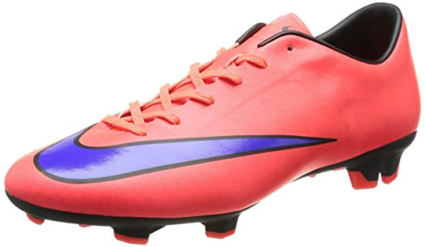 f63b6681a66 Nike Mercurial Victory V Fg Football Boots in Red for Men - Lyst