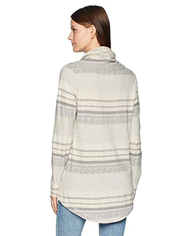 Woolrich Tunic Cowl Save Mile Run 5 Lyst In Gray qLSGUzjMVp