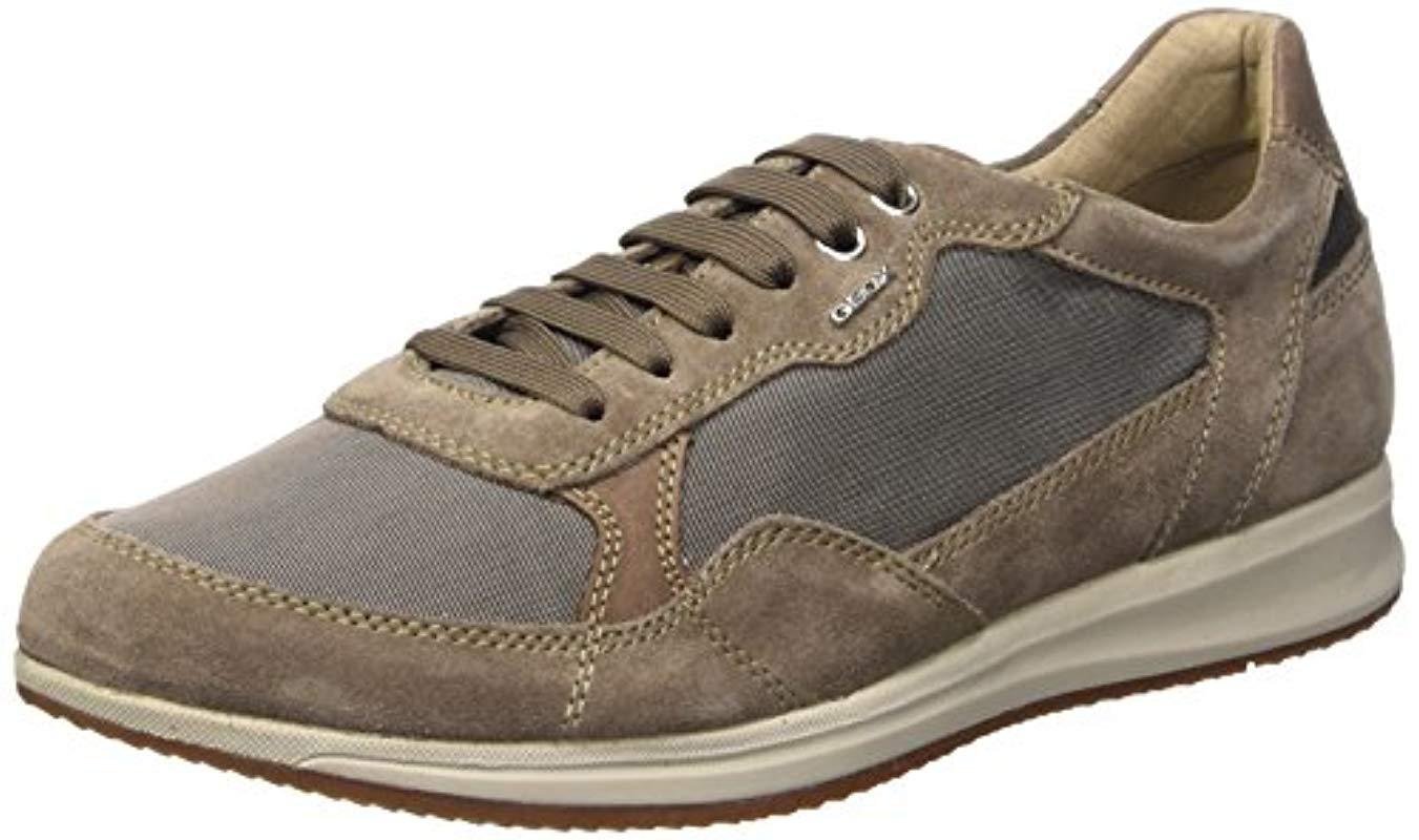 8a77f4f9954fc Geox  s U Avery A Pumps in Gray for Men - Lyst