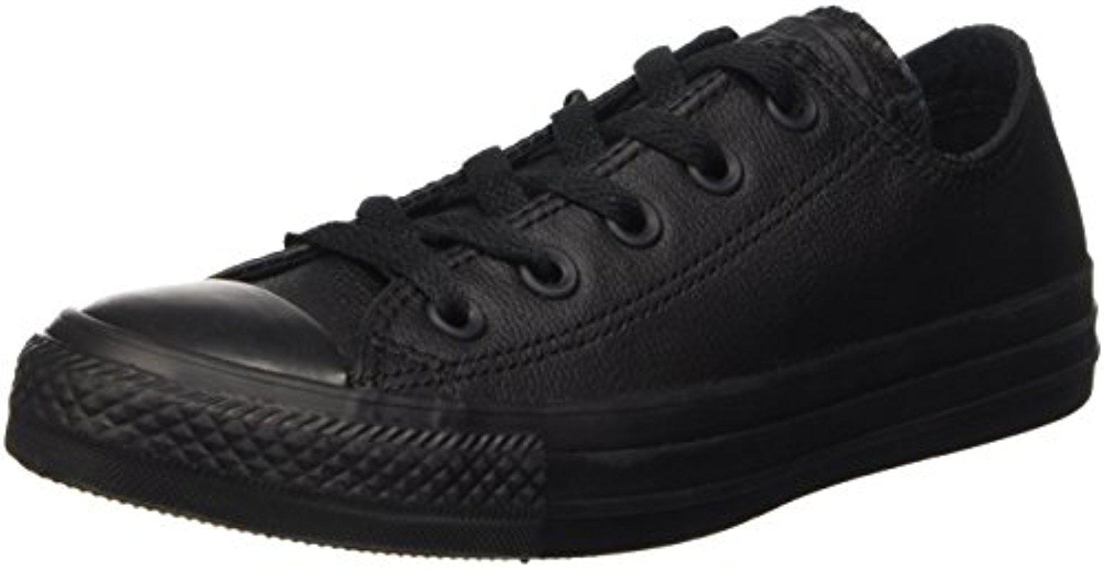 cd7f8053ff07 Lyst - Converse Chuck Taylor All Star Leather Low Top Shoe
