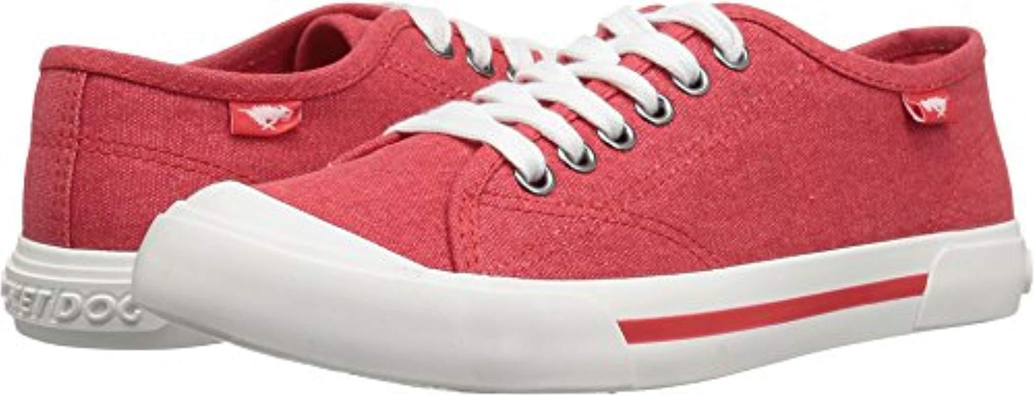 c0b73f41b827cc Lyst - Rocket Dog Jumpin Weekend Canvas Fashion Sneaker in Red