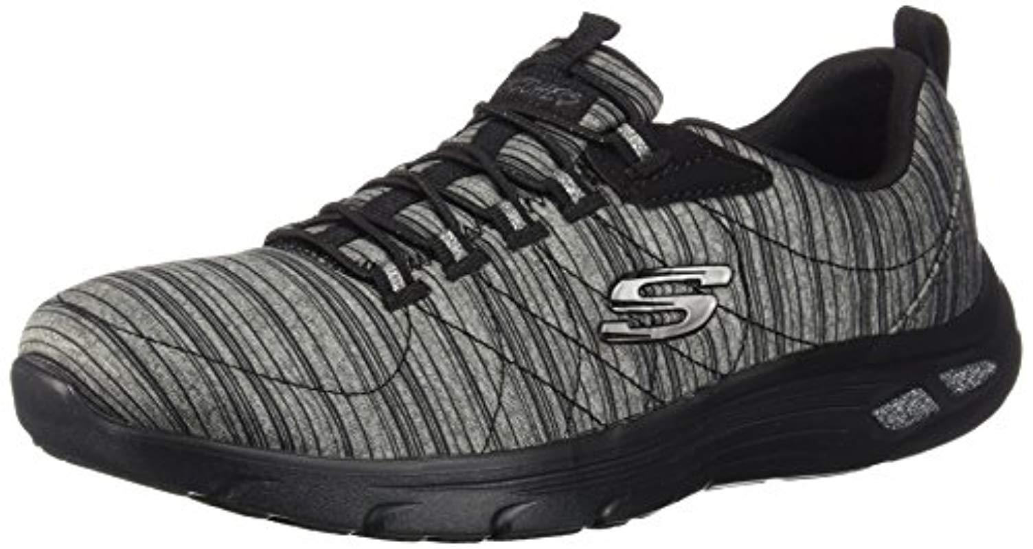 e3493b0ebfc7 Skechers Empire D lux Trainers in Black - Lyst