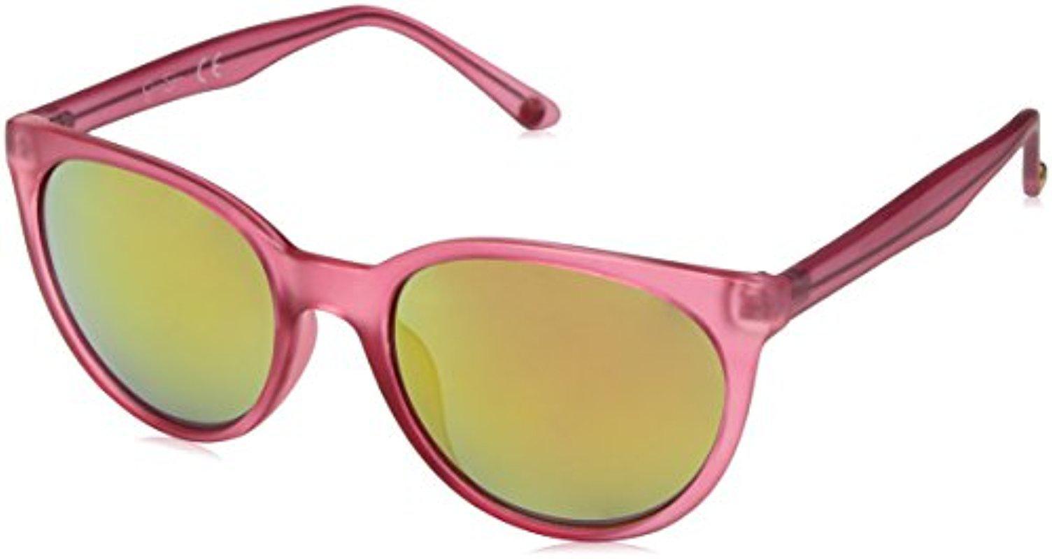 b10fae852697 Lyst - Sam Edelman Jessica Simpson J5242 Wayfarer Sunglasses in Pink