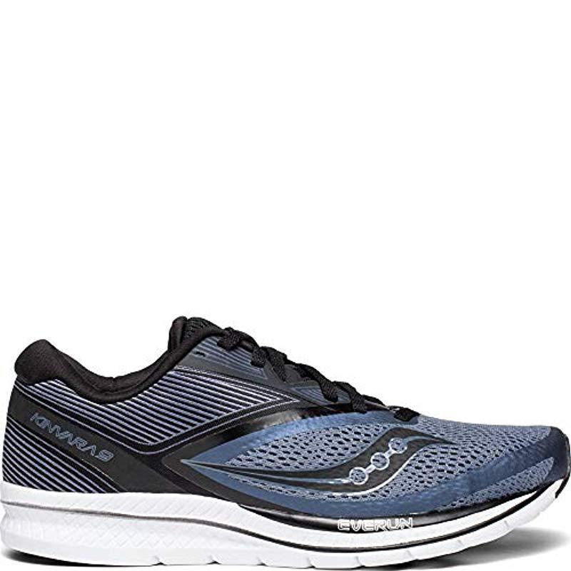 Men's Gray Kinvara 9 Running Shoe