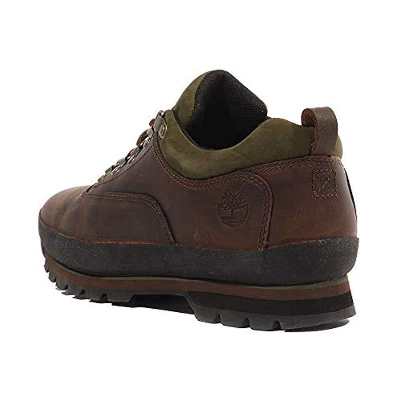 13b9cda896d Timberland 's Euro Hiker Low Oxfords in Brown for Men - Lyst