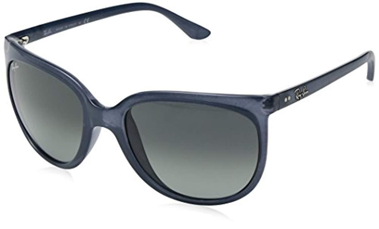 d0684b90d16 ... ireland ray ban. womens black cats 1000 cateye sunglasses 54ff0 5b496