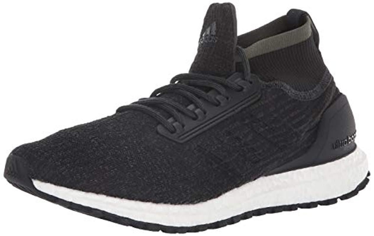 4d431c0b603 Lyst - adidas Ultraboost All Terrain Running Shoe Carbon black white ...