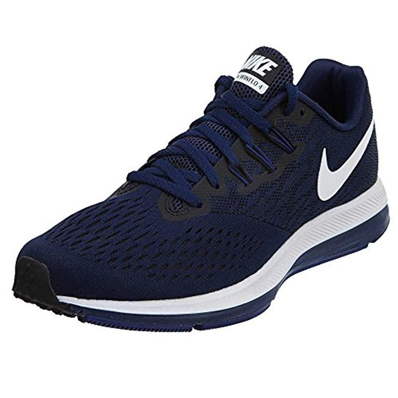 best sneakers 27a3e 866b2 Nike - Blue Air Zoom Winflo 4 Running Shoes for Men - Lyst