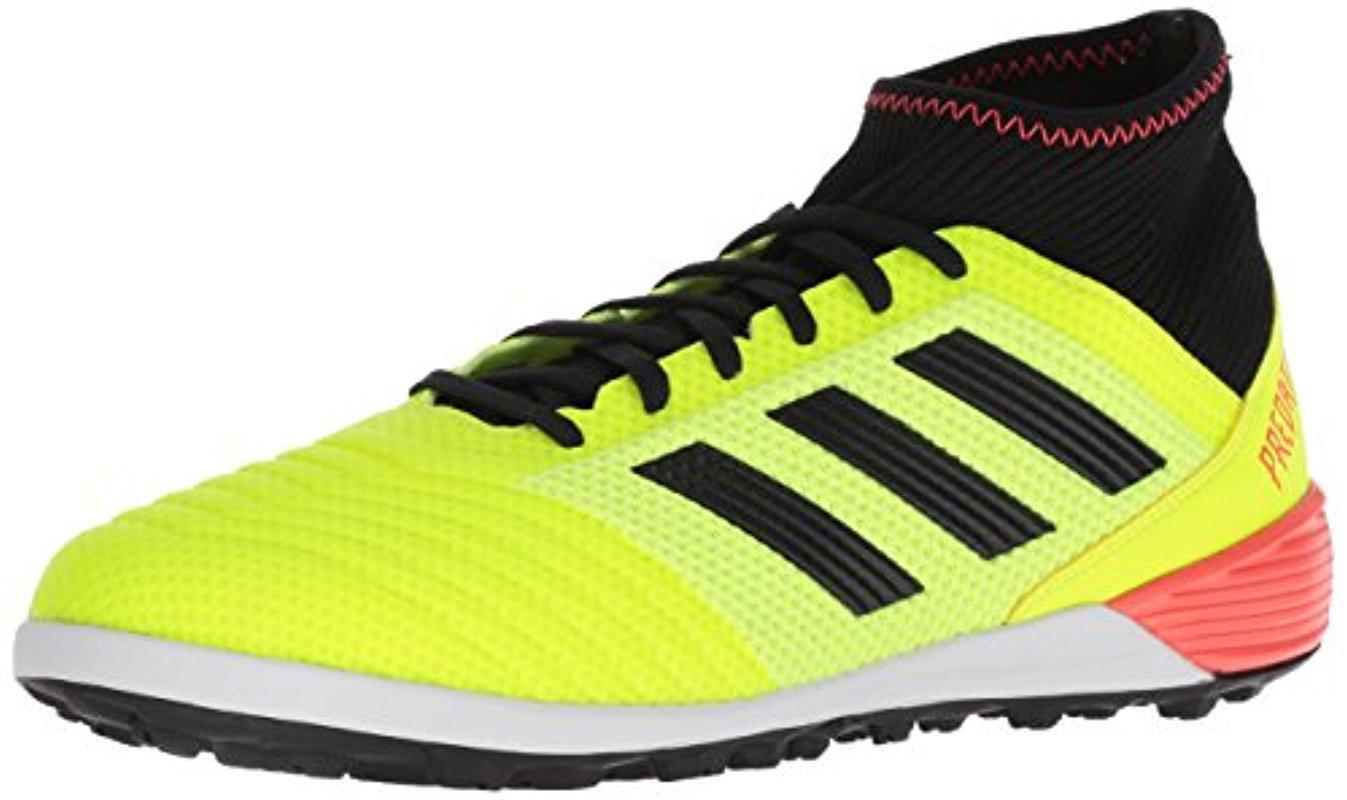 cheap for discount 264ca 54854 adidas Originals. Mens Yellow Predator Tango 18.3 Tf Soccer Shoe