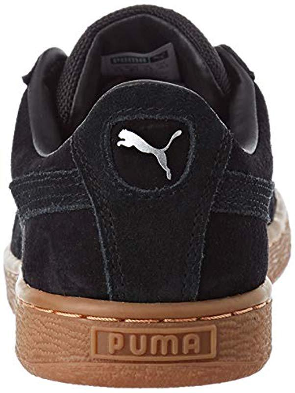 b8ded5fb334b Puma Unisex Adults  Basket Classic Weatherproof Low-top Sneakers in Black  for Men - Lyst
