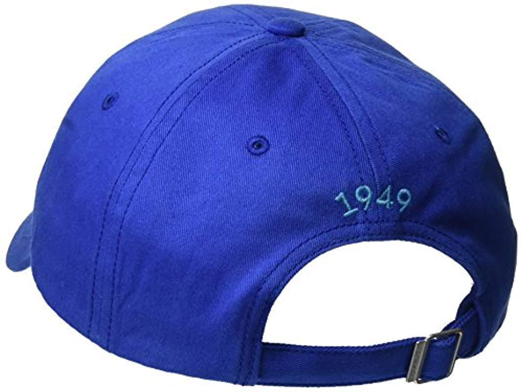 d9f96538fac Gant - Blue Contrast Twill Mens Cap for Men - Lyst. View fullscreen