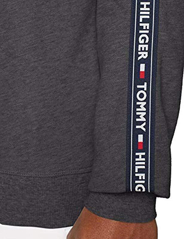 3fbf016e42d Tommy Hilfiger Track Ls Hwk Sweater in Gray for Men - Lyst