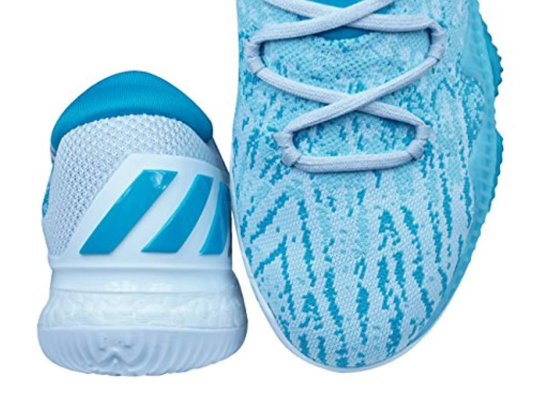 best cheap e56b8 41943 Adidas Crazylight Boost Gymnastics Shoes in Blue for Men - L