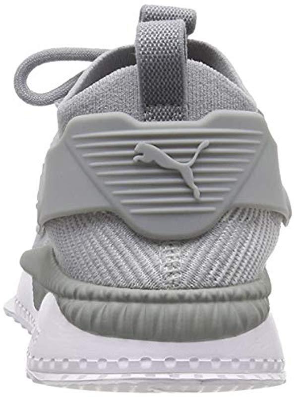 e5c147fca836 PUMA - Gray Unisex Adults  Tsugi Cage Dazzle Low-top Sneakers for Men -.  View fullscreen