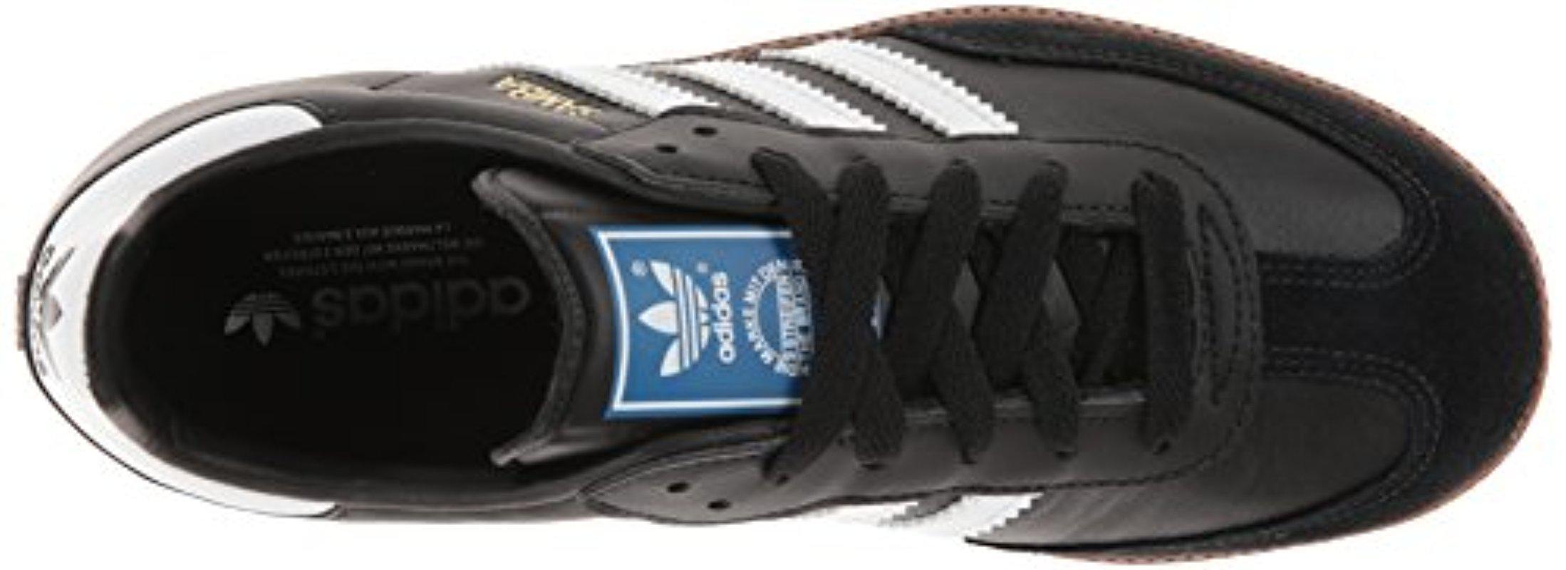 Lyst - Adidas Originals Samba Soccer-inspired Sneaker in Black for Men bb716d8bc