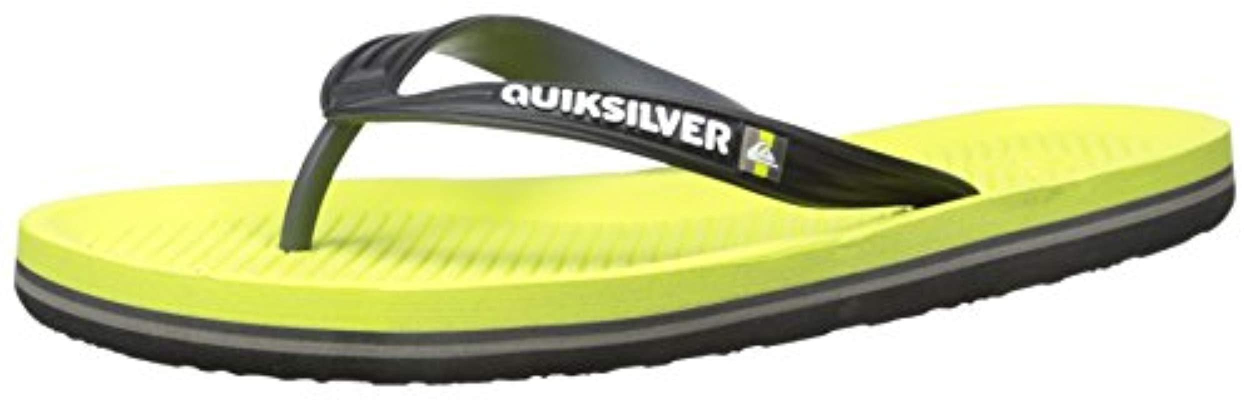 7af2202c1eb3 Quiksilver - Green Haleiwa Sandal-m for Men - Lyst. View fullscreen
