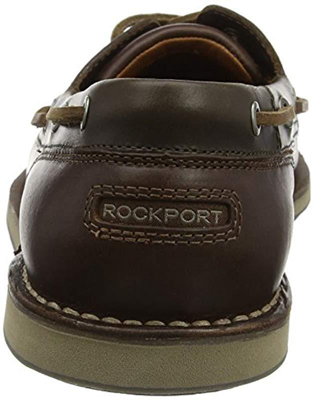 24b97c1736 Rockport Perth Tan Boat Shoes in Brown for Men - Lyst