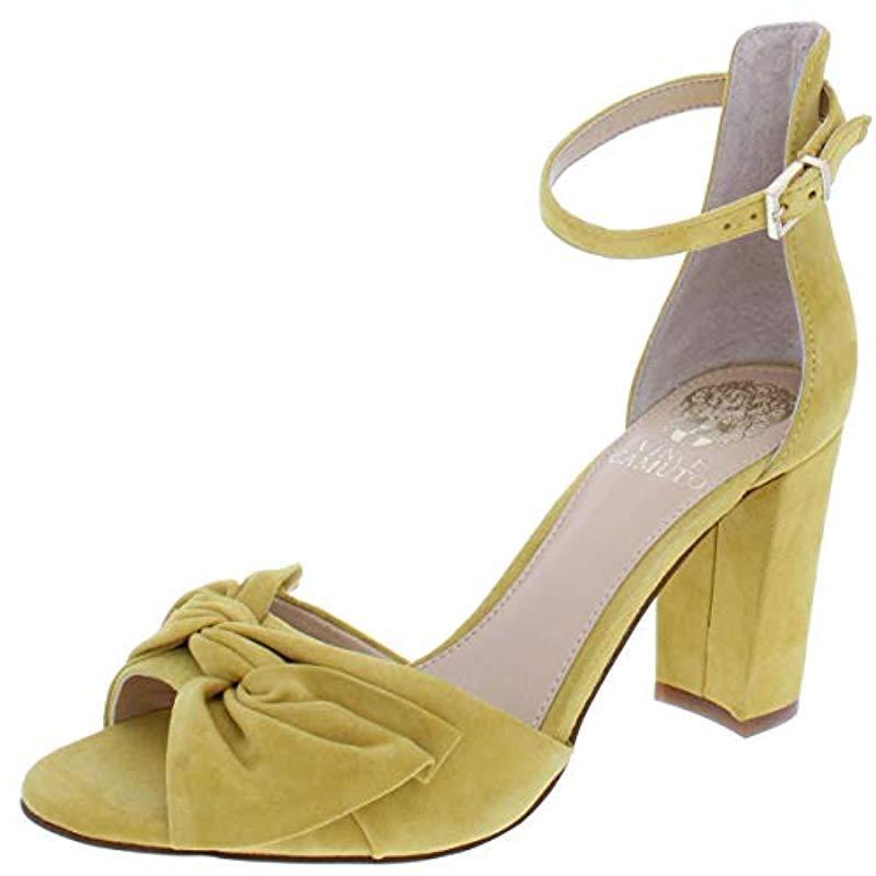 029ec30e15c Lyst - Vince Camuto Carrelen Heeled Sandal - Save 54%