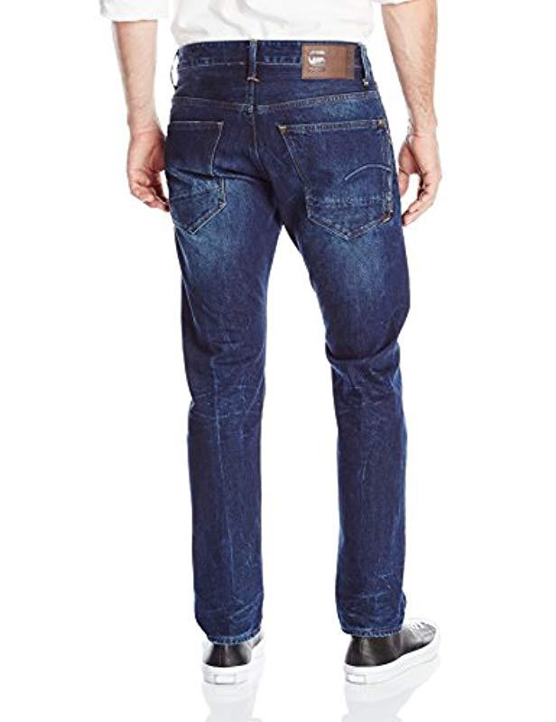 a50057b0715 G-Star RAW Stean Tapered Jeans in Blue for Men - Lyst