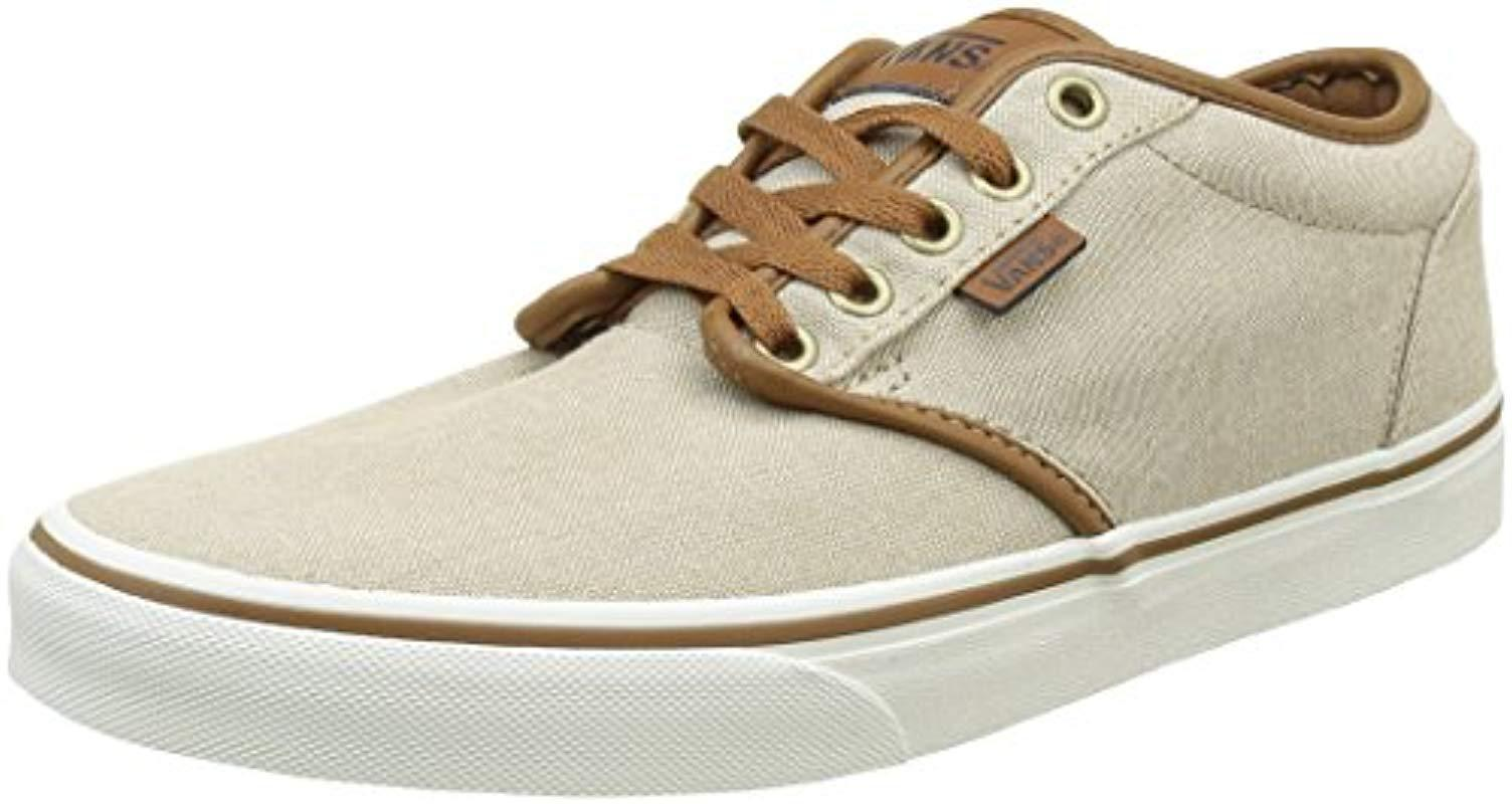e042254c307ff7 Vans Atwood Low-top Sneakers in Natural for Men - Lyst