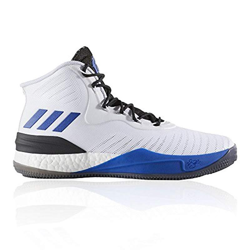 dfcf8e8c43eb adidas  s D Rose 8 Basketball Shoes in Black for Men - Lyst