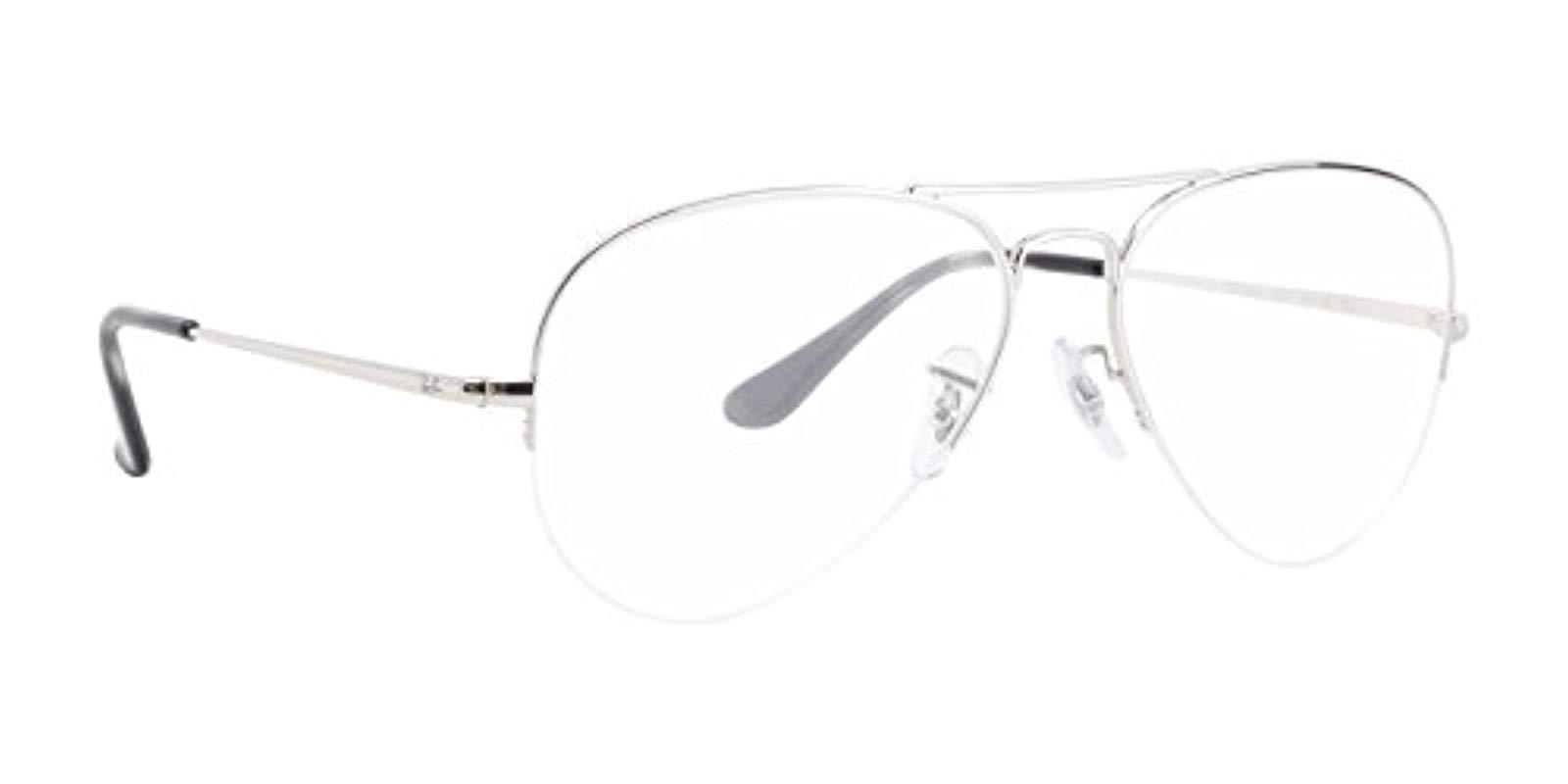 204bd168190 Ray-Ban. Women s Metallic 0rx 6589 2501 56 Optical Frames
