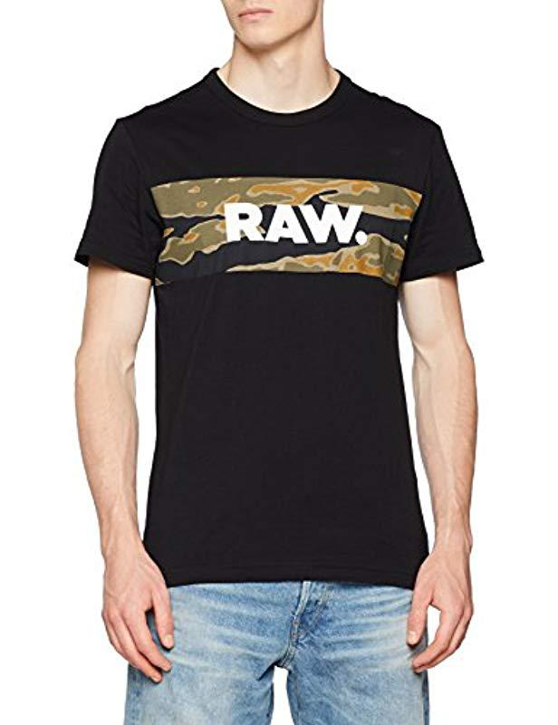 9ea1923e481 G-Star RAW Tairi R T S/s T-shirt in Black for Men - Save 29% - Lyst