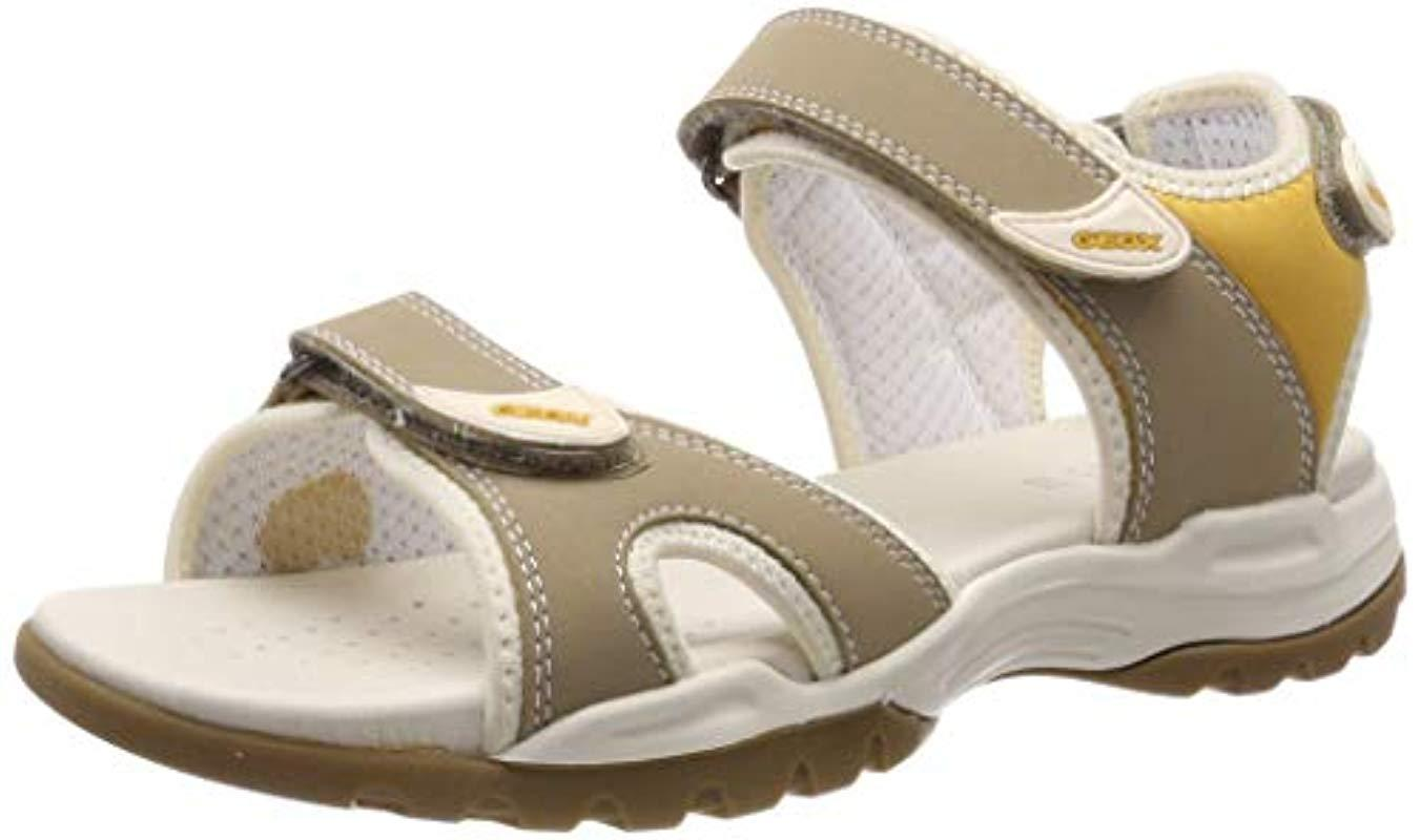 4d40ae112a68 Geox D Borealis A Open Toe Sandals - Lyst
