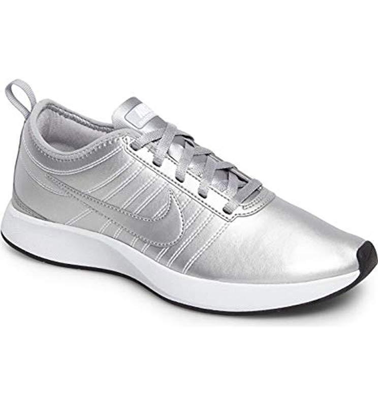 Nike W Dualtone Racer Gymnastics Shoes in Metallic - Lyst 531a465d4