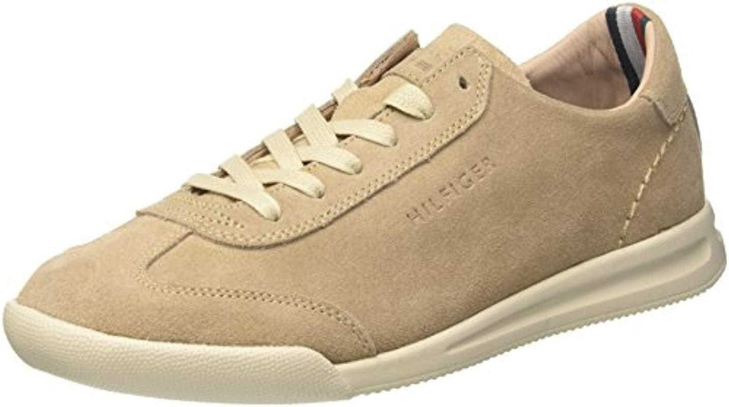 e91e2f4a6 Tommy Hilfiger Casual Suede Low Cut Sneaker Top in Natural for Men ...