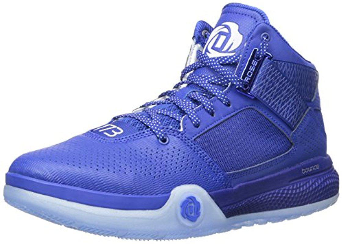 d0f592135fd Lyst - adidas Performance D Rose 773 Iv Basketball Shoe in Blue for Men