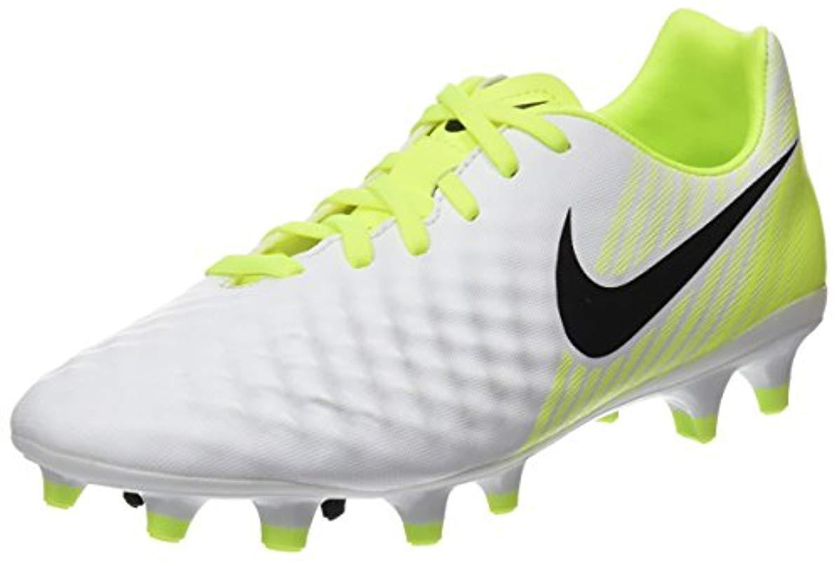 best service b2d97 db341 Nike  s Magista Onda Ii Fg Footbal Shoes in White for Men - Lyst