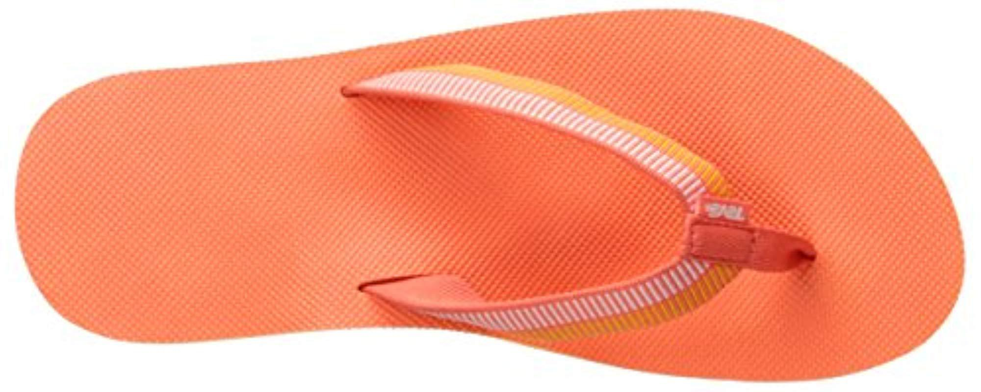 ddc84d5f5e5f8 Teva - Orange Deckers Flip-flop - Lyst. View fullscreen