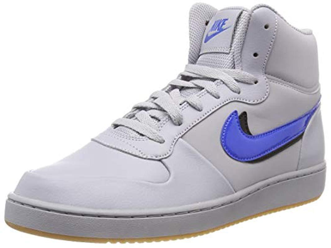 check out b3558 10f8d Nike Ebernon Mid Premium,  s Sneakers in Gray for Men - Lyst