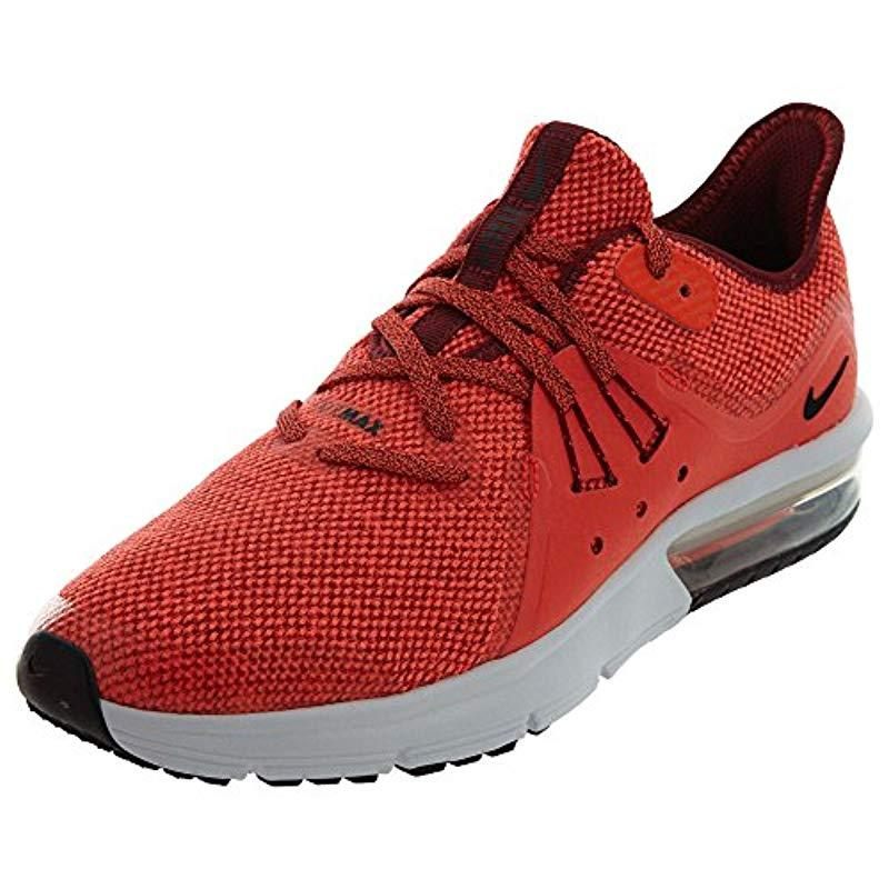 Nike  s Air Max Sequent 3 (gs) Running Shoes in Red for Men - Lyst b2e28fabb
