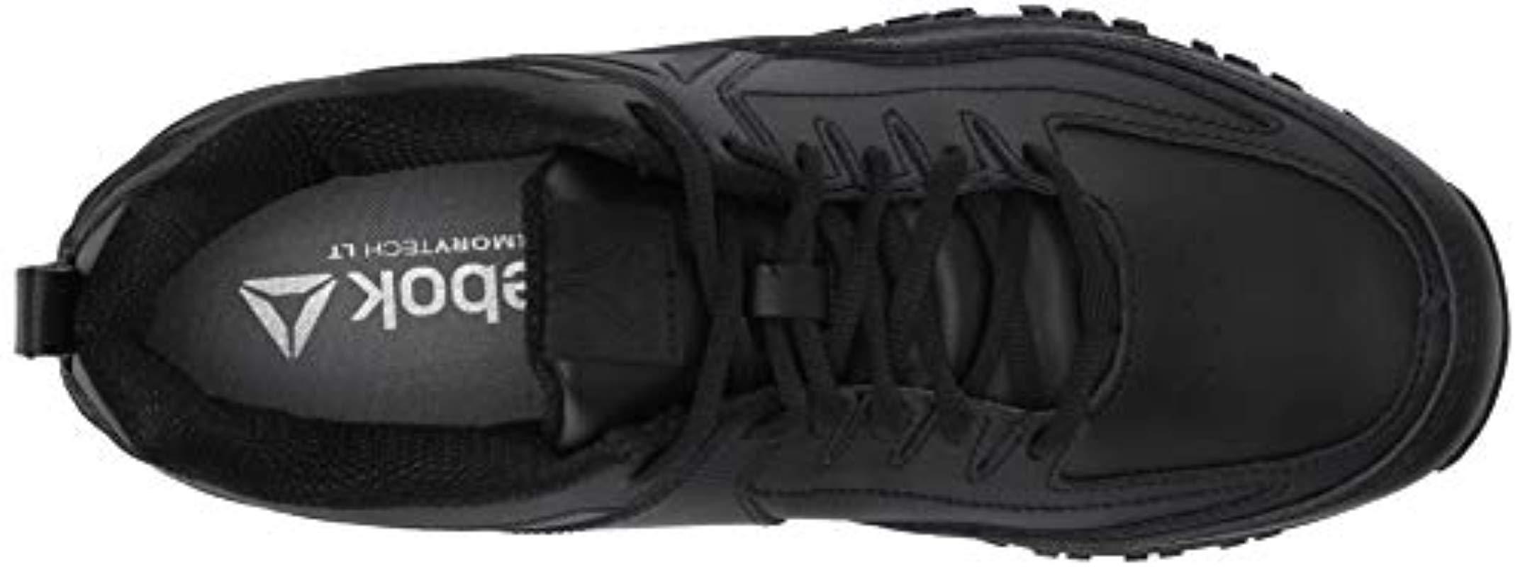 e1a2fba00dad1a Reebok - Black Ridgerider Leather 4e Sneaker for Men - Lyst. View fullscreen