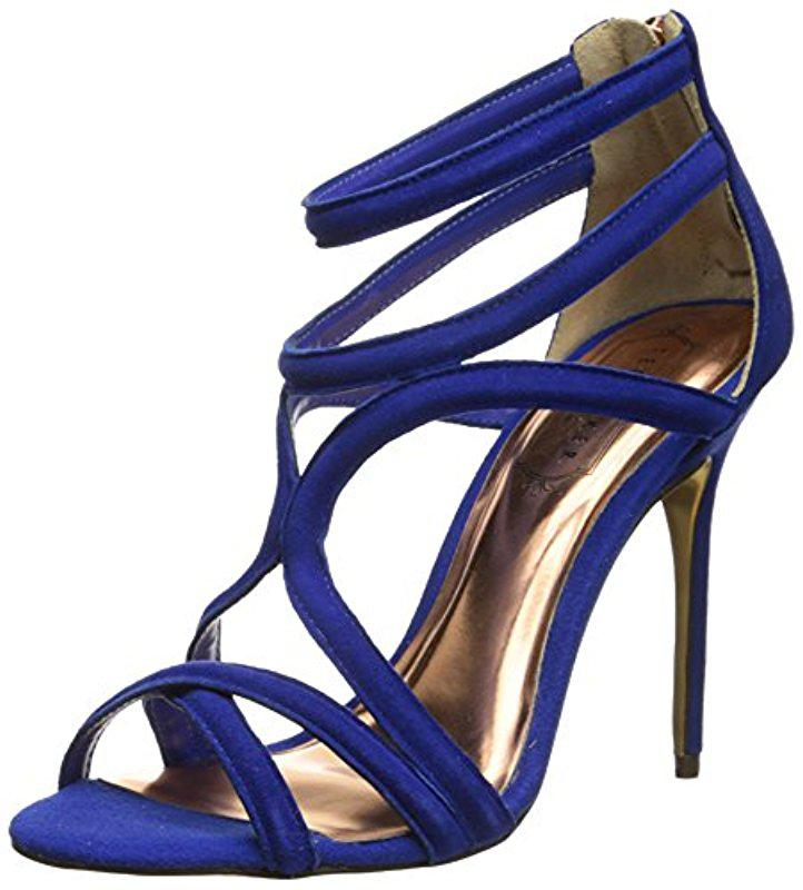 3a4034d565a Lyst - Ted Baker Ninof Gladiator-style Dress Sandal in Blue