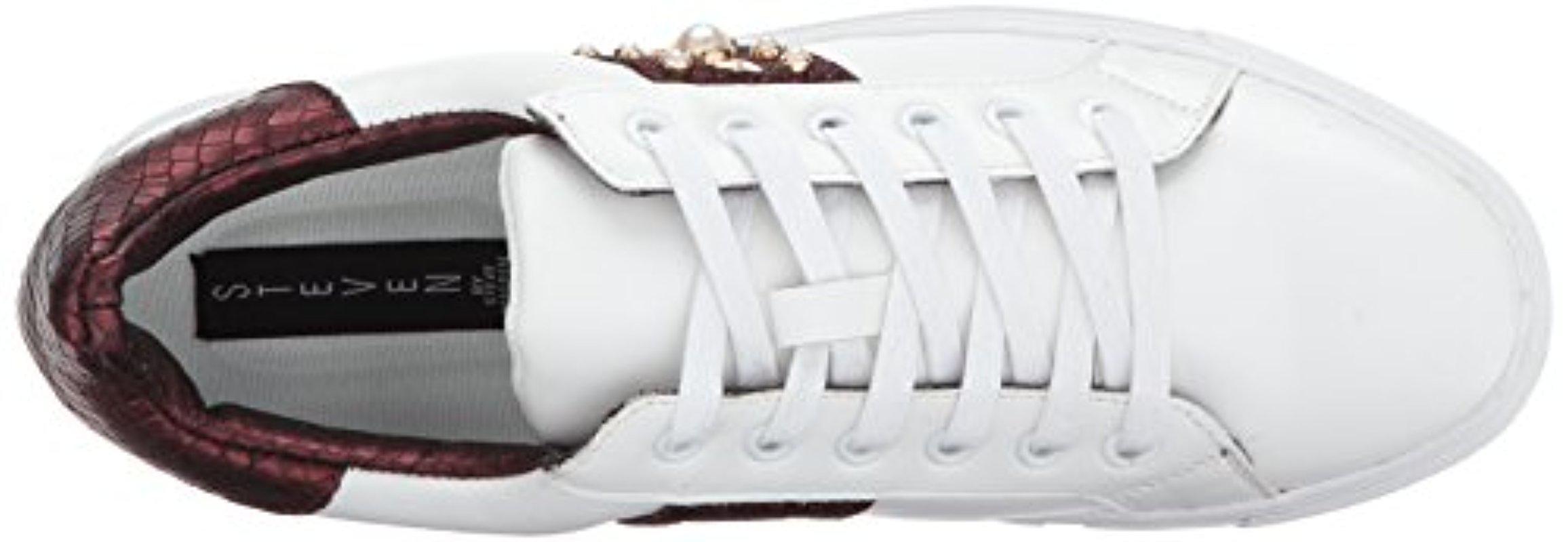 2a6587b515e3c Steven by Steve Madden - White Cory Fashion Sneaker - Lyst