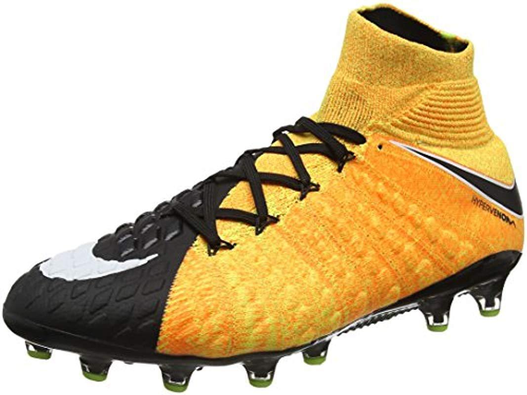 5a30489f5fa7 Nike  s Hypervenom Phantom 3 Df Ag-pro Football Boots in Orange for ...