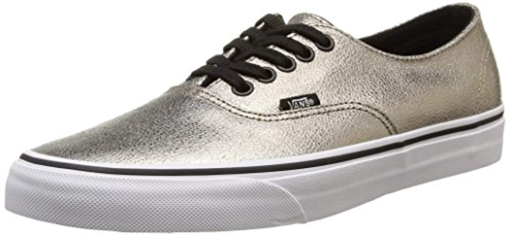 9f218c9528 Vans U Authentic Decon Unisex Adults Low-top Sneakers in Metallic ...