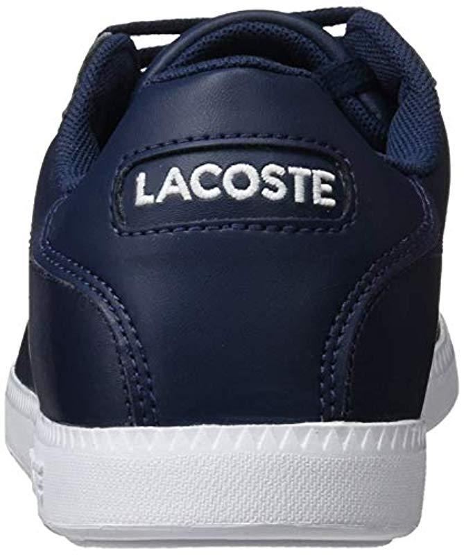 966f3b4db81f Lacoste Graduate Bl 1 Sma Trainers in Blue for Men - Lyst