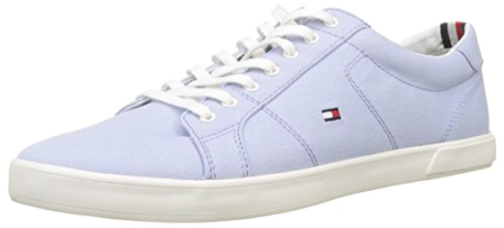 94c963e33925 Tommy Hilfiger  s Iconic Long Lace Sneaker Low-top in Blue for Men ...