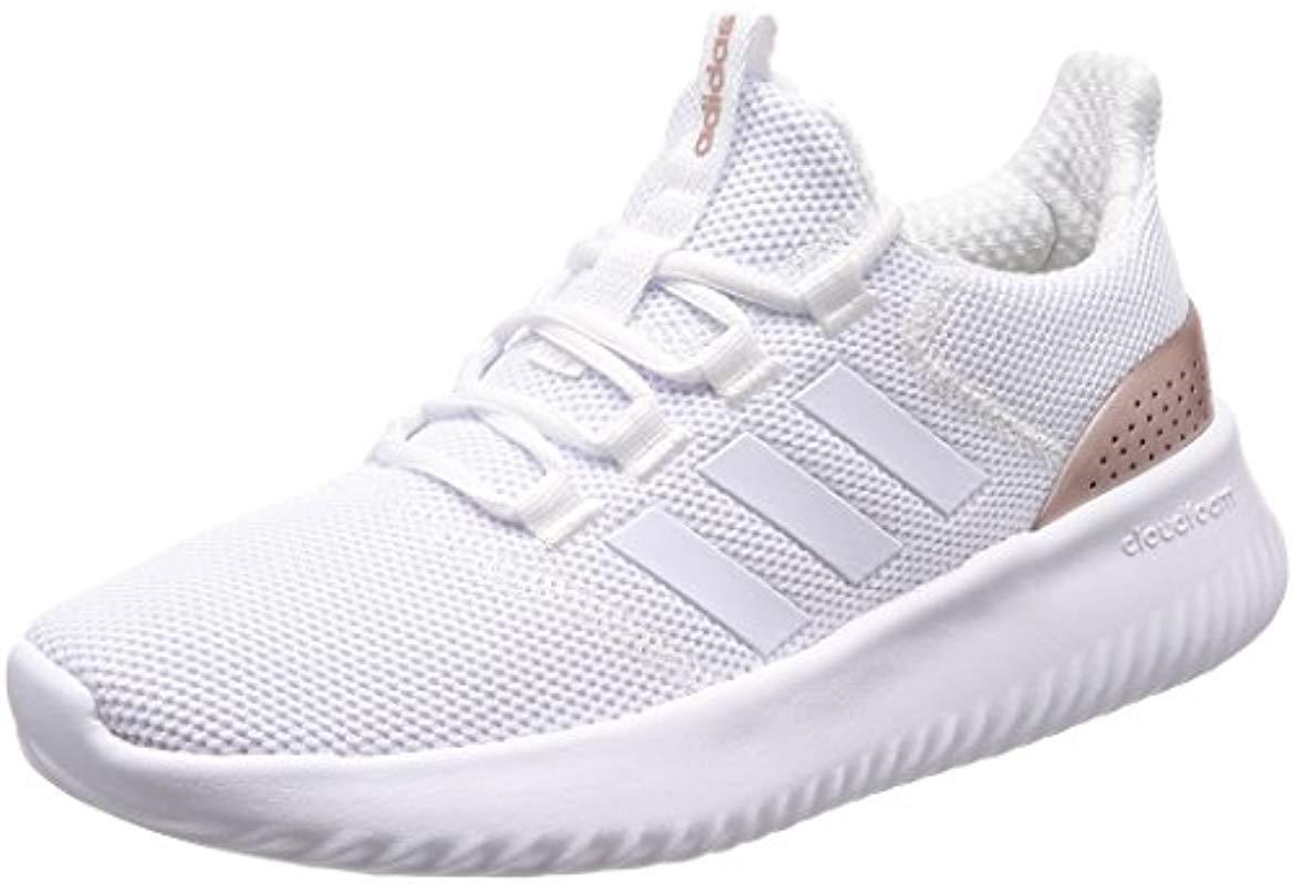 1064477aaa259 adidas Cloudfoam Ultimate Competition Running Shoes in White - Lyst