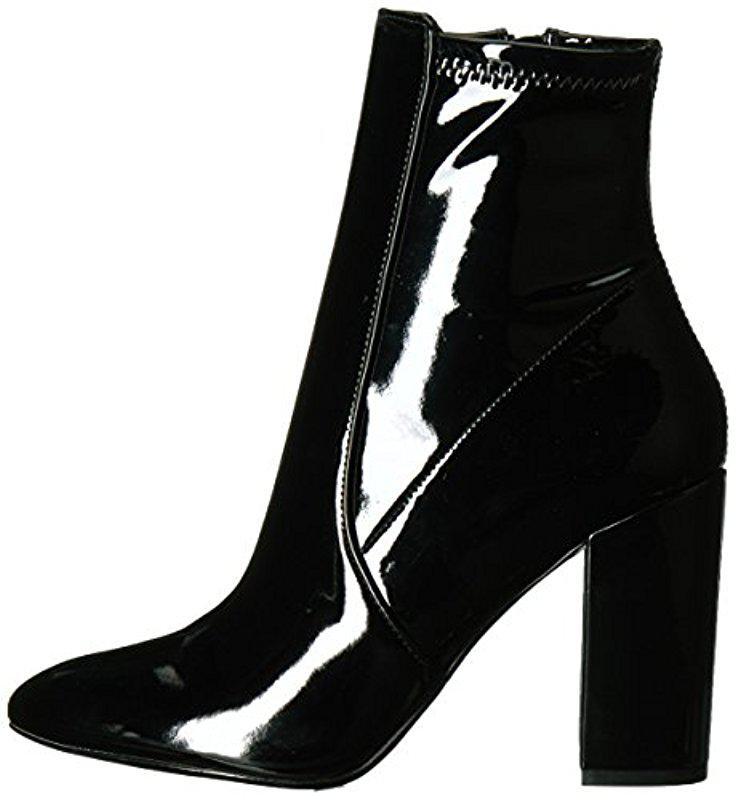 690215c6133 Lyst - ALDO Aurella Ankle Bootie in Black