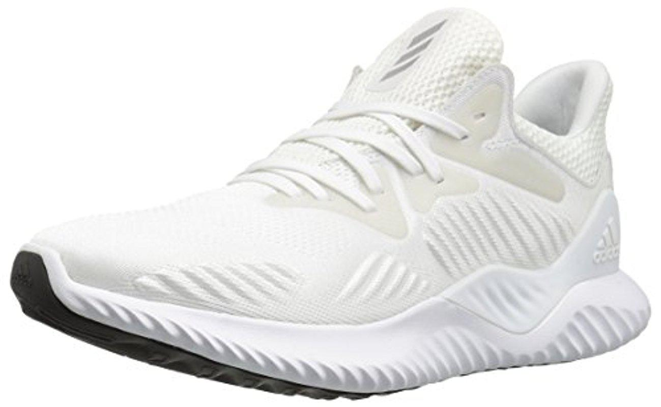 b91c716f07b4e4 Lyst - Adidas Alphabounce Beyond W Running Shoe in White for Men