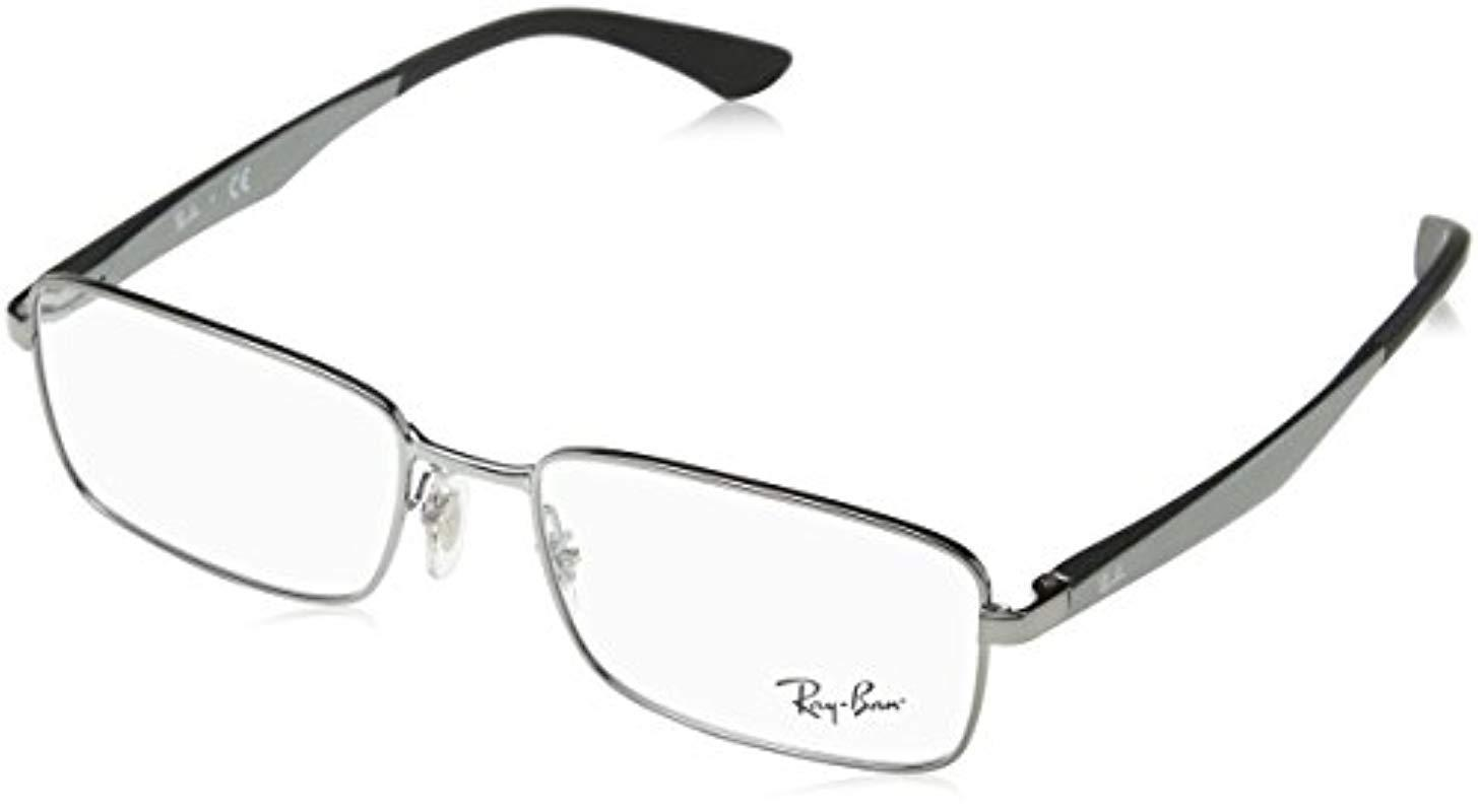 2535e1c47b9 Ray-Ban Rayban 6333 in Black for Men - Lyst