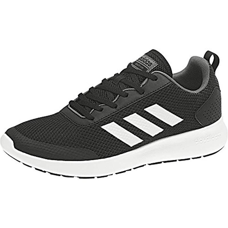 online retailer 14839 36bab Adidas Chaussures Element Race in Black for Men - Lyst
