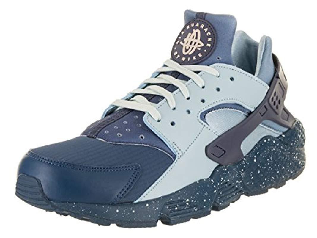 on sale 3cb8e 44f92 Nike. Men s Blue Air Huarache Run Prm Gymnastics Shoes